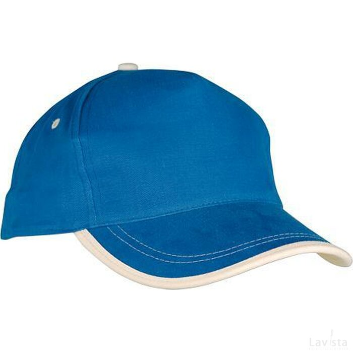 Cap Usa Blauw/naturel