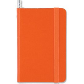 Notitieboek mini + Potlood Oranje