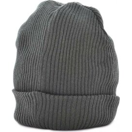 Slouch Beanie Donkergrijs