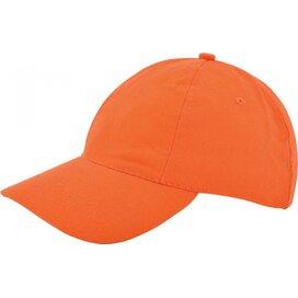 Kinder Brushed Promo Cap Oranje