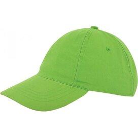 Kinder Brushed Promo Cap Groen