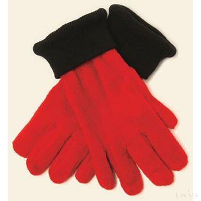Nilton`s Handschoenen De Luxe 280gr/m2 Rood