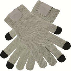 Touchscreen Handschoenen Met Label Grey