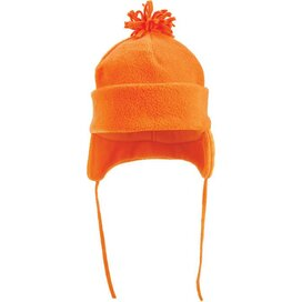 Fleece Wintermuts Met Pompoen 280 Gr/m2 Oranje