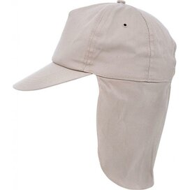 Kids Legionnair Cap Khaki
