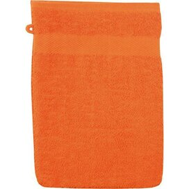 Washand 22*16cm, 380 Gr/m2 Oranje