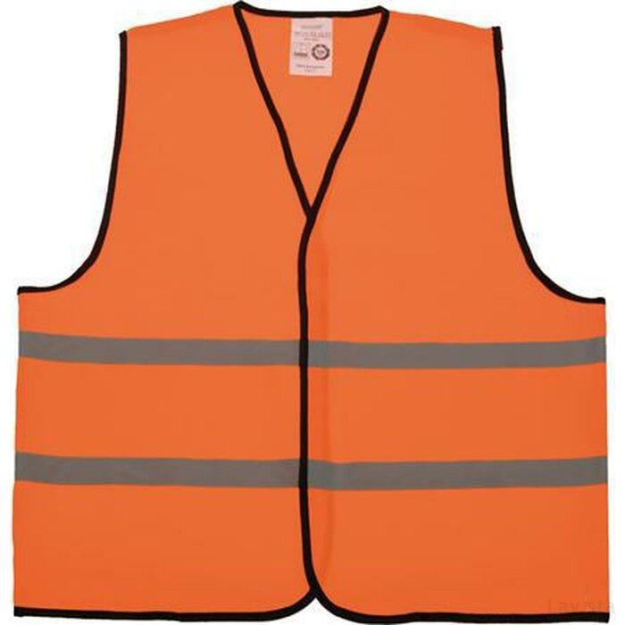 Kinder Veiligheidsvest Polyester Oranje Bulk