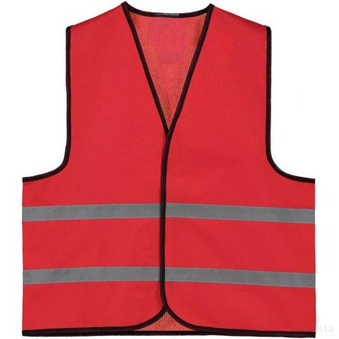 Kids Promo Veiligheidsvest Polyester Rood